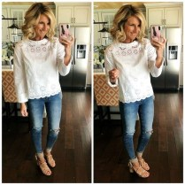 Lovely Spring Outfits Ideas With White Top10
