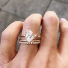 Brilliant Rose Gold Wedding Rings Ideas07