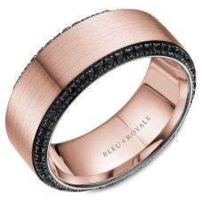 Brilliant Rose Gold Wedding Rings Ideas11