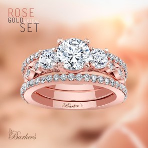 Brilliant Rose Gold Wedding Rings Ideas15