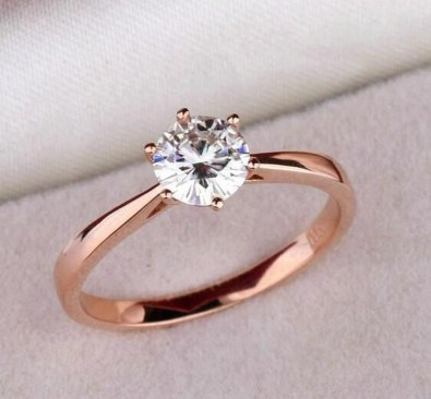 Brilliant Rose Gold Wedding Rings Ideas28