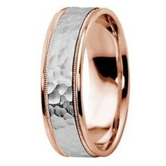 Brilliant Rose Gold Wedding Rings Ideas32