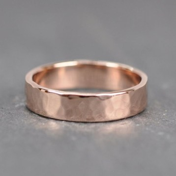Brilliant Rose Gold Wedding Rings Ideas38