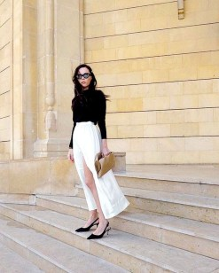 Charming Dinner Outfits Ideas For Spring38