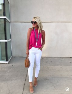Charming Dinner Outfits Ideas For Spring39
