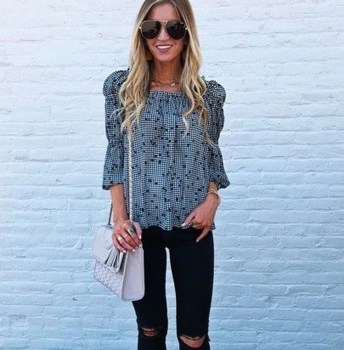 Charming Dinner Outfits Ideas For Spring42
