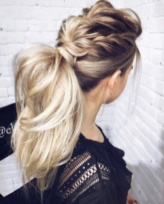 Charming Ponytail Hairstyles Ideas With Sophisticated Vibe14