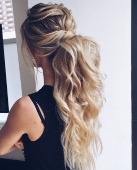 Charming Ponytail Hairstyles Ideas With Sophisticated Vibe20