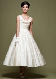 Gorgeous Tea Length Wedding Dresses Ideas32