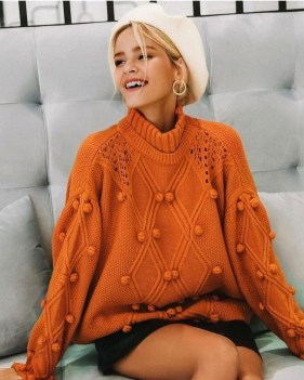 Impressive Sweater Outfits Ideas For Spring31
