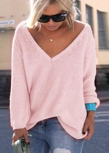 Impressive Sweater Outfits Ideas For Spring46