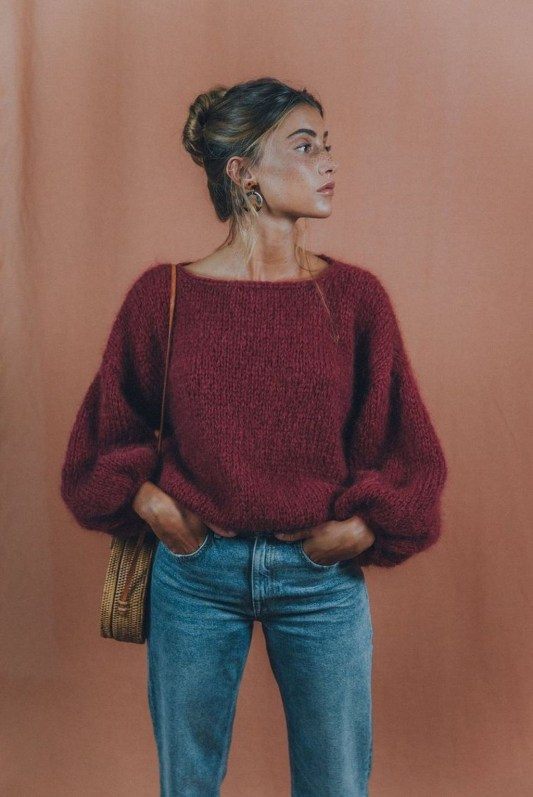 Impressive Sweater Outfits Ideas For Spring50