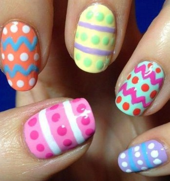 Modern Easter Nail Art Design Ideas02
