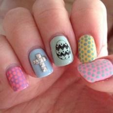 Modern Easter Nail Art Design Ideas13