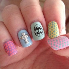 Modern Easter Nail Art Design Ideas13