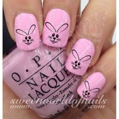 Modern Easter Nail Art Design Ideas14