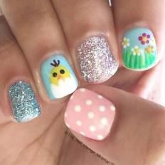 Modern Easter Nail Art Design Ideas15