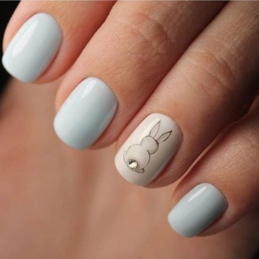 Modern Easter Nail Art Design Ideas32
