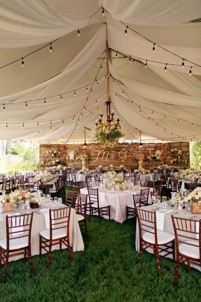 Pretty Backyard Reception Decoration Ideas06