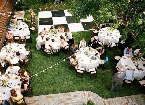 Pretty Backyard Reception Decoration Ideas07