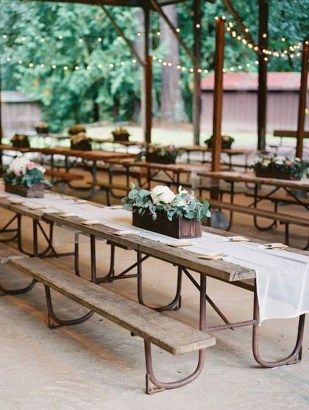 Pretty Backyard Reception Decoration Ideas30