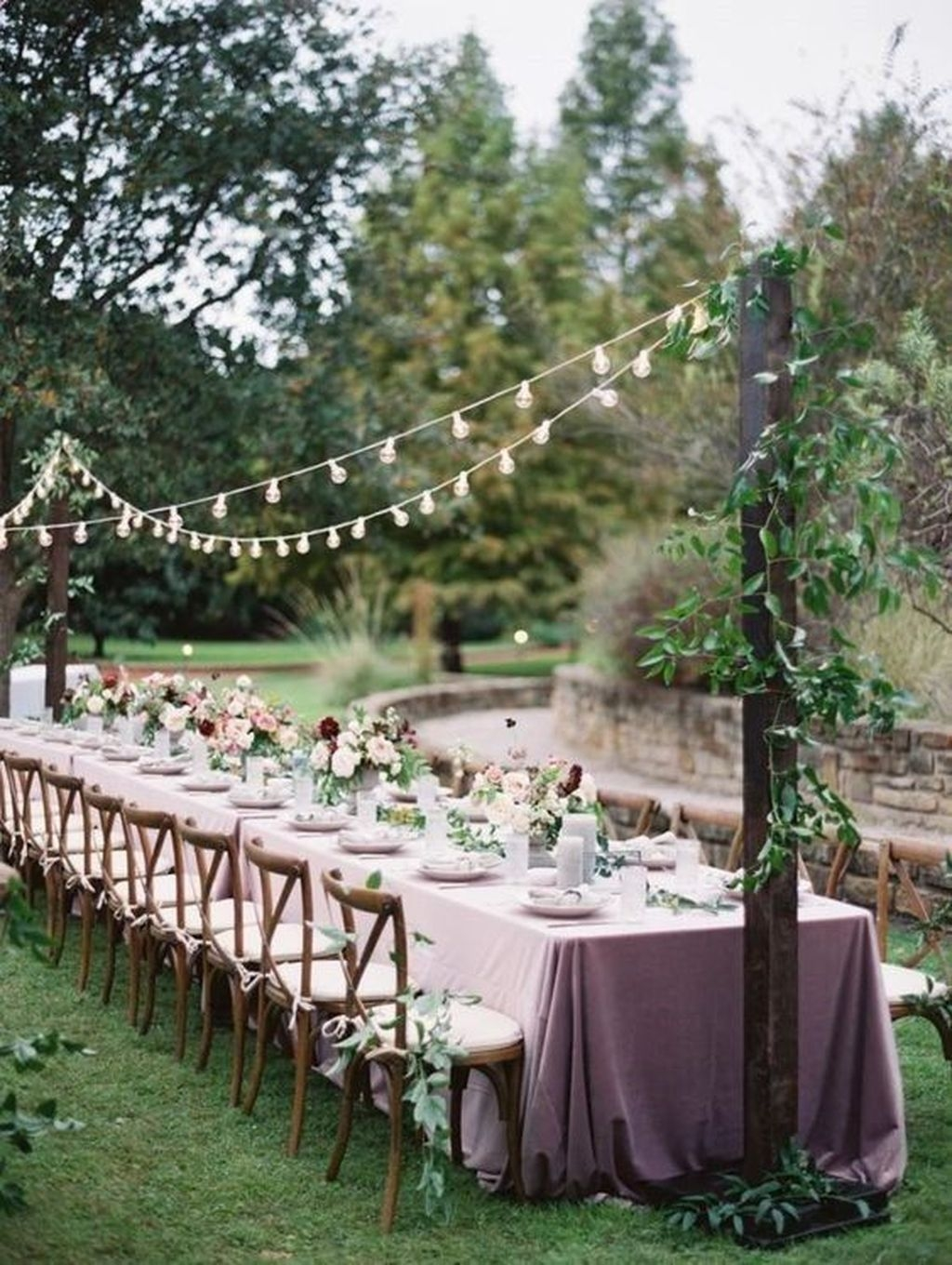 Pretty Backyard Reception Decoration Ideas38