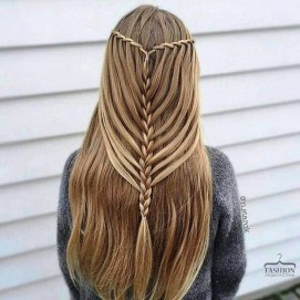Stylish Mermaid Braid Hairstyles Ideas For Girls01