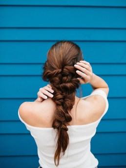 Stylish Mermaid Braid Hairstyles Ideas For Girls07