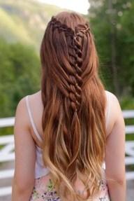 Stylish Mermaid Braid Hairstyles Ideas For Girls28