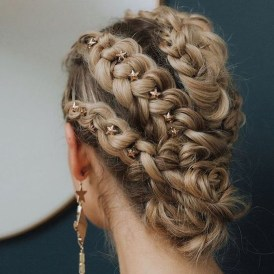 Stylish Mermaid Braid Hairstyles Ideas For Girls39