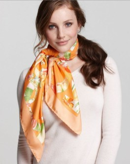Best Ideas To Wear A Scarf Stylishly This Spring13