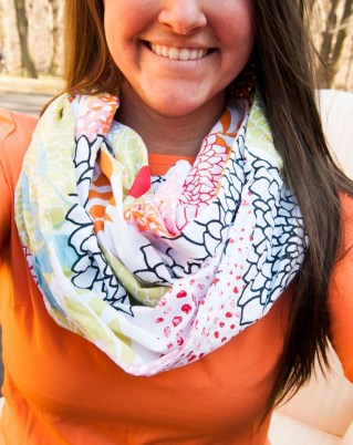 Best Ideas To Wear A Scarf Stylishly This Spring15