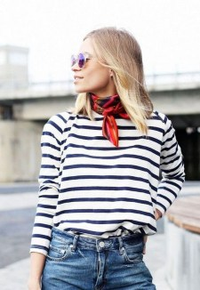 Best Ideas To Wear A Scarf Stylishly This Spring20