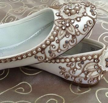 Captivating Flat Wedding Shoes Ideas15