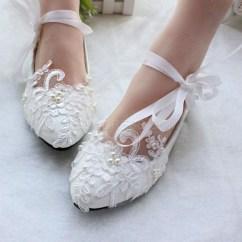 Captivating Flat Wedding Shoes Ideas17