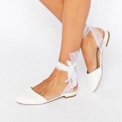 Captivating Flat Wedding Shoes Ideas20