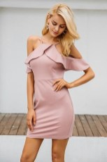 Cozy Open Shoulders Dresses Ideas For Summer03