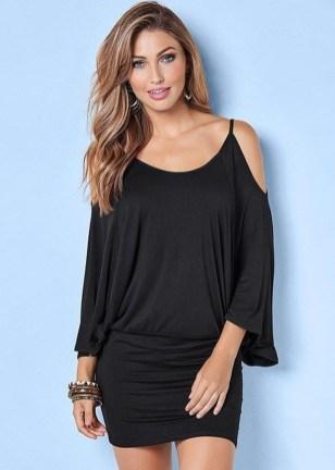 Cozy Open Shoulders Dresses Ideas For Summer13
