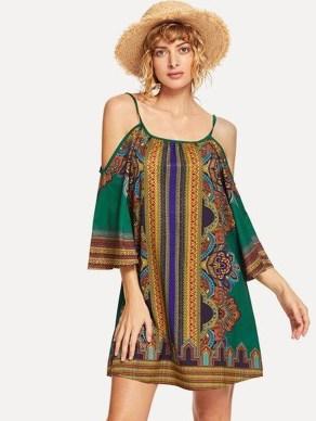Cozy Open Shoulders Dresses Ideas For Summer16
