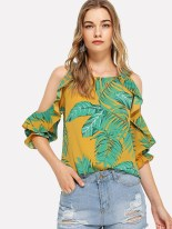 Cozy Open Shoulders Dresses Ideas For Summer21