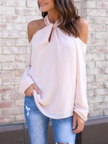 Cozy Open Shoulders Dresses Ideas For Summer22