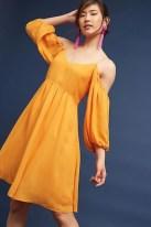 Cozy Open Shoulders Dresses Ideas For Summer23