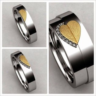 Creative Wedding Ring Sets Ideas For Bride And Groom01