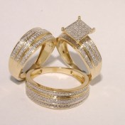 Creative Wedding Ring Sets Ideas For Bride And Groom13