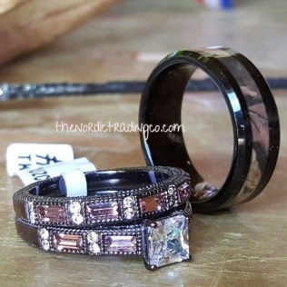 Creative Wedding Ring Sets Ideas For Bride And Groom15
