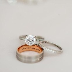 Creative Wedding Ring Sets Ideas For Bride And Groom18