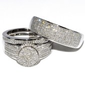 Creative Wedding Ring Sets Ideas For Bride And Groom25