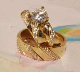 Creative Wedding Ring Sets Ideas For Bride And Groom30