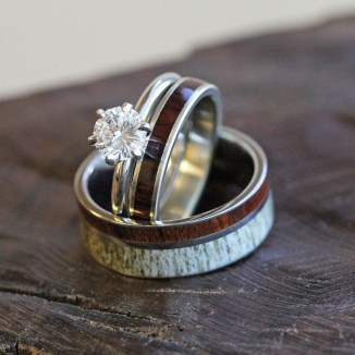 Creative Wedding Ring Sets Ideas For Bride And Groom46
