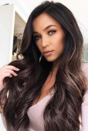 Elegant Dark Brown Hair Color Ideas With Highlights01